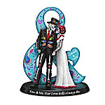 Blake Jensen You & Me, Our Love Will Always Be Sugar Skull-Inspired Personalized Figurine
