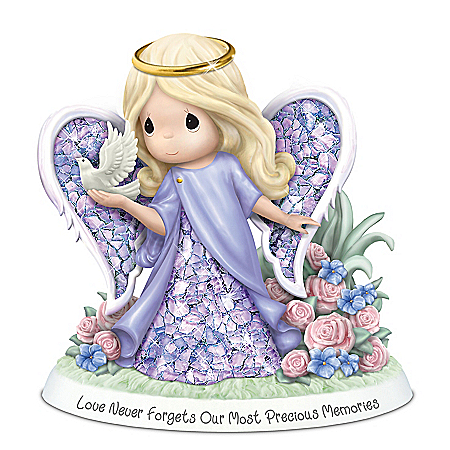 Precious Moments Alzheimer's Awareness Angel Figurine