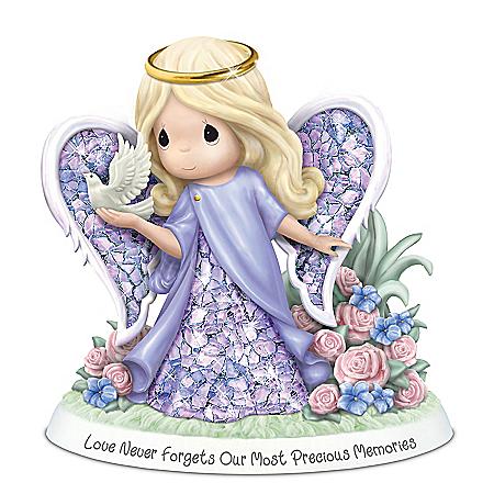 Precious Moments Alzheimer's Awareness Angel Figurine
