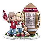 Precious Moments Together We Are Champions Alabama Crimson Tide 2017 Football National Champions Figurine
