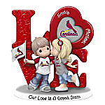 Precious Moments Our Love Is A Grand Slam St. Louis Cardinals Personalized Figurine