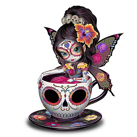 Jasmine Becket-Griffith Sweet Jasmine Sugar Skull-Inspired Figurine