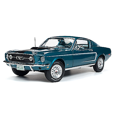 1:18-Scale 1968 Ford Mustang 2+2 Diecast Car