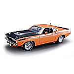 1 - 18-Scale 1970 Plymouth AAR Barracuda Diecast Car Collectible