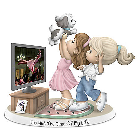 Precious Moments Dirty Dancing I've Had The Time Of My Life Figurine