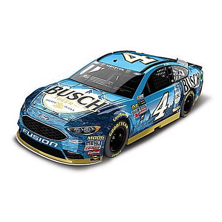 Kevin Harvick No. 4 Busch Beer Monster Energy 2018 NASCAR 1:24-Scale Diecast Car
