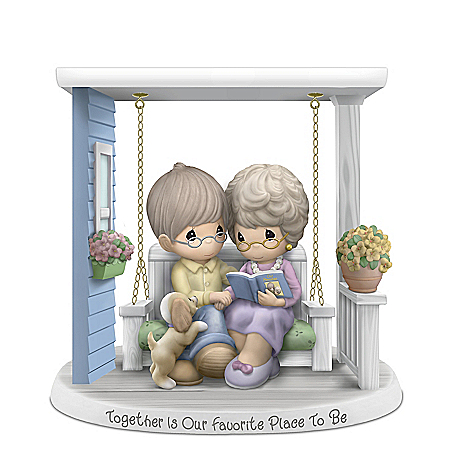 Together Is Our Favorite Place To Be Porcelain Figurine
