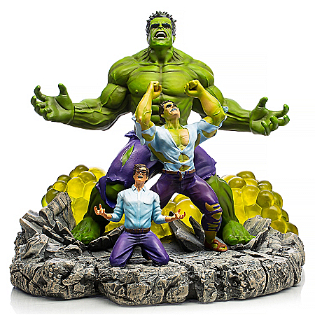 MARVEL HULK: The Monster Within Sculpture