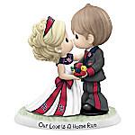 Precious Moments Our Love Is A Home Run St. Louis Cardinals Porcelain Figurine