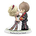 Precious Moments Chicago Blackhawks® Love Forever Porcelain Figurine