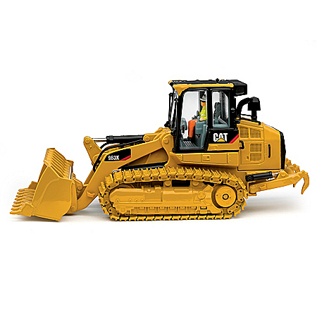 1:50-Scale CAT 963K Track Loader Diecast Tractor