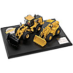 1 - 50-Scale Evolution Of The Caterpillar Wheel Loader Diecast Tractor Set