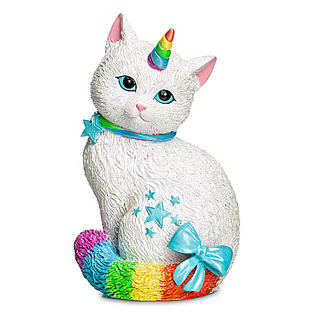 Blake Jensen Starlight Caticorn Hand-Painted Figurine