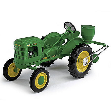 1:16-Scale John Deere Model L With Planter Diecast Tractor