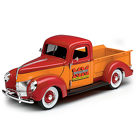 1:25-Scale 1940 Ford Minneapolis-Moline Diecast Truck