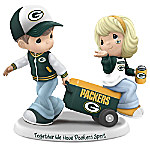Precious Moments Together We Have Green Bay Packers Spirit Handcrafted NFL Figurine