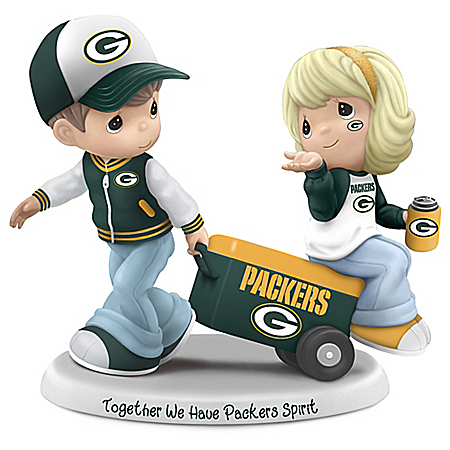 Precious Moments Together We Have Packers Spirit Figurine