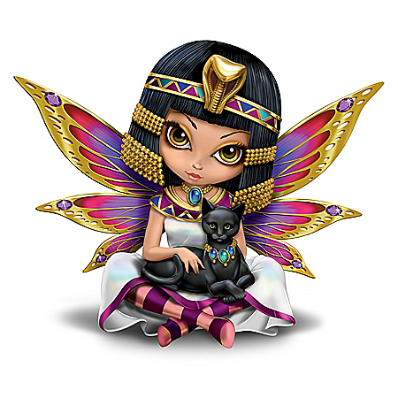 Beautiful Queen Of Love Egyptian Fairy Figurine