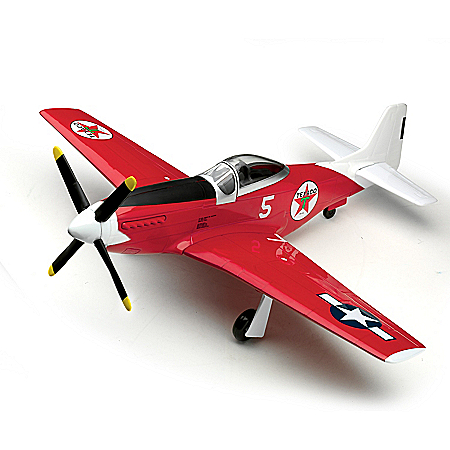 1:44-Scale Texaco 1945 North American P-51D Mustang Diecast Airplane