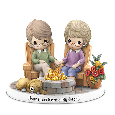 Precious Moments Your Love Warms My Heart Illuminated Figurine