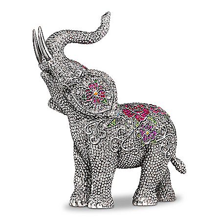 Blake Jensen Legends Of Fortune Elephant Figurine