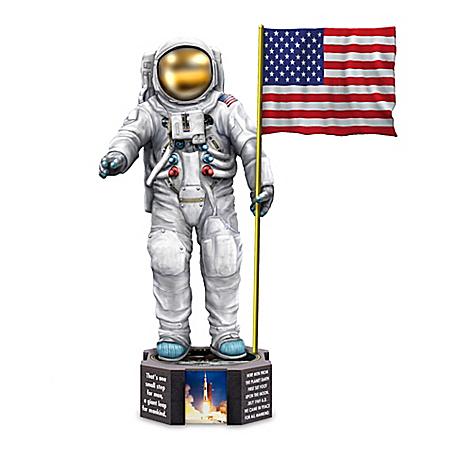 Apollo 11 50th Anniversary Moon Landing Figurine