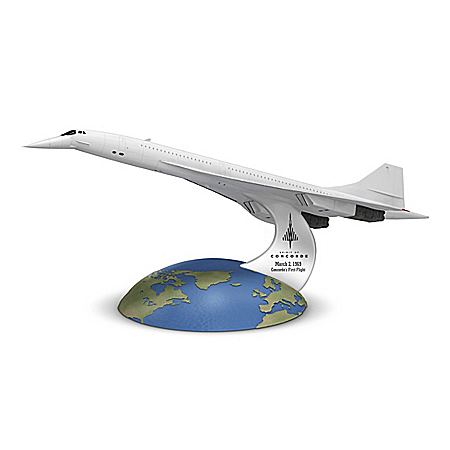 50th Anniversary Spirit Of Concorde 1:250-Scale Sculpture
