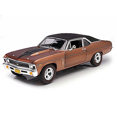 1:18-Scale 1969 Chevy Nova SS Yenko Diecast Car