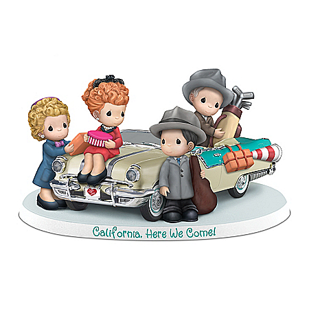 Precious Moments Figurine Inspired By I LOVE LUCY Episode