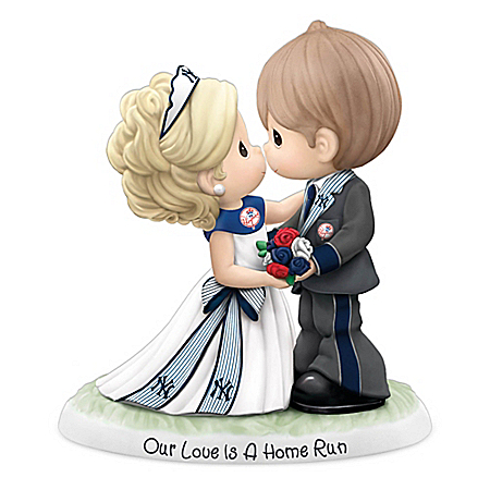 Precious Moments New York Yankees Our Love Is A Home Run MLB Figurine