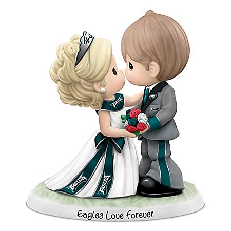 Precious Moments Philadelphia Eagles Love Forever NFL Figurine
