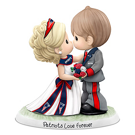 Precious Moments New England Patriots Love Forever NFL Figurine