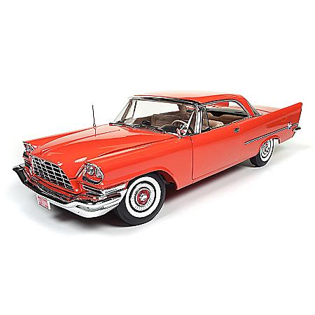 1:18-Scale 1957 Chrysler 300C Hardtop Diecast Car
