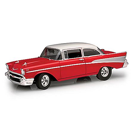 1:18-Scale 1957 Chevrolet Bel Air Street-Strip Diecast Car