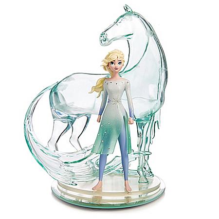 Disney FROZEN 2 Trust Your Journey Elsa And Nokk Figurine