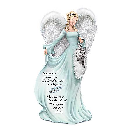Dona Gelsinger Angel Figurine With Swarovski Crystals