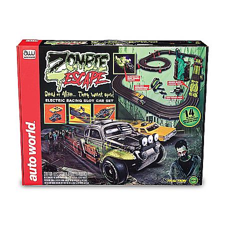 Zombie Escape Slot Car Race Set