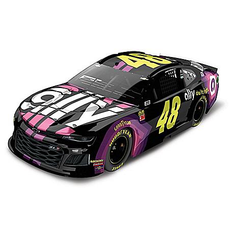 Jimmie Johnson 1:24-Scale #48 Ally 2019 NASCAR Diecast Car