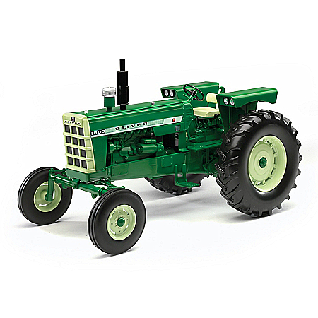 1:16-Scale Oliver 1800 Wide Front Diecast Tractor With Rubber Tires