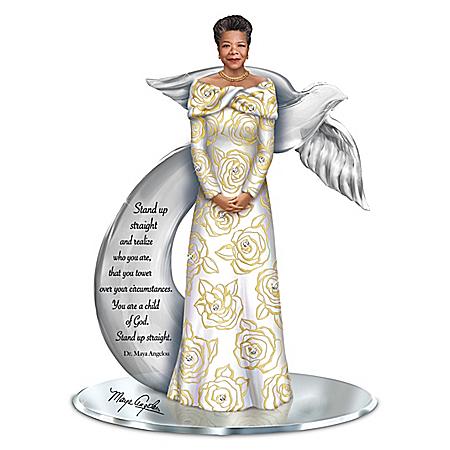 Treasured Reflections Of Dr. Maya Angelou Inspiring Figurine