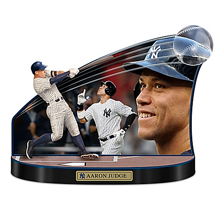 Caught In The Action New York Yankees Aaron Judge MLB Sculpture