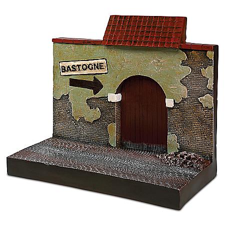 WWII 1:18-Scale Bastogne Building Display Sculpture