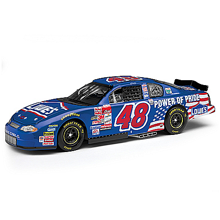 1:24-Scale Jimmie Johnson 2001 First Start Diecast Car