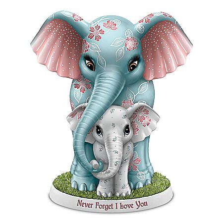 Blake Jensen Never Forget I Love You Elephant Figurine