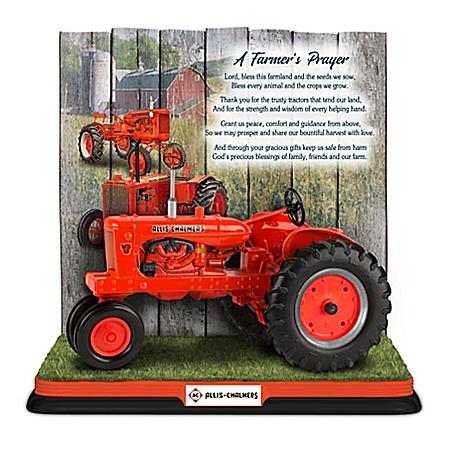 Allis-Chalmers: A Farmer's Prayer Tractor Sculpture