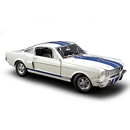 1:18-Scale '66 Shelby GT350 With Paxton Supercharger Diecast