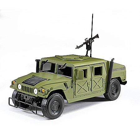 1:18-Scale High Mobility Multi-Purpose Wheeled Diecast Vehicle
