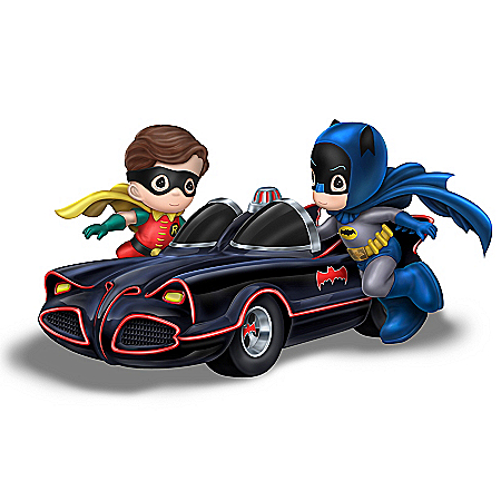 Precious Moments BATMAN & ROBIN Classic TV Series Figurine