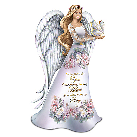 Lena Liu Forever In Our Hearts Angel Figurine