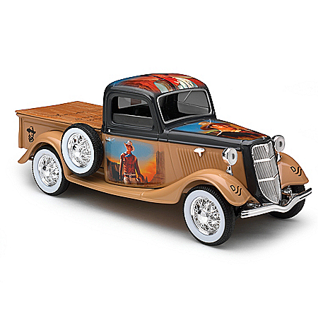 1:25-Scale John Wayne 2-In-1 Ford Diecast Truck Coin Bank